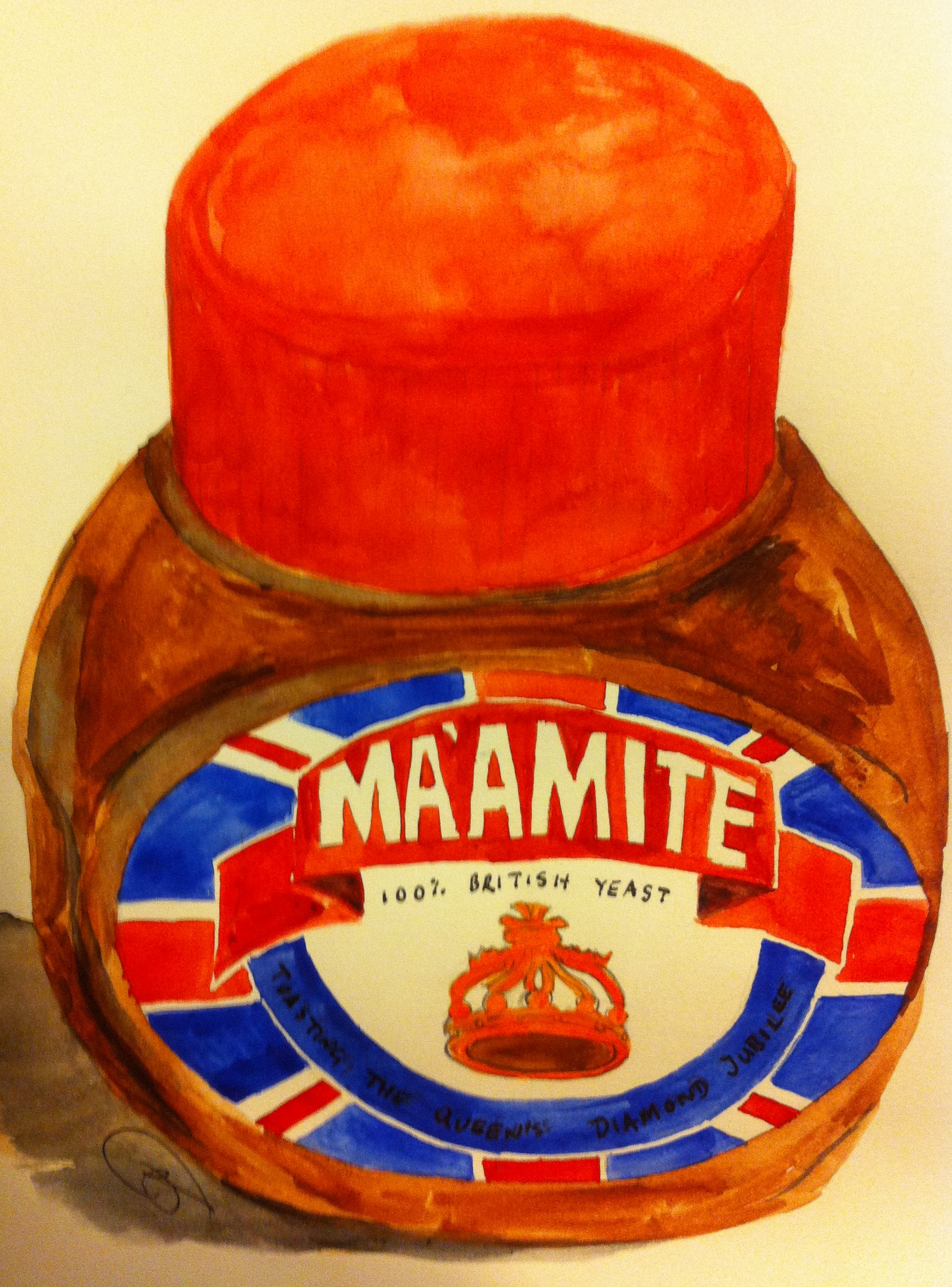 Marmite Toasting the Queens Diamond Jubilee with Ma'amite