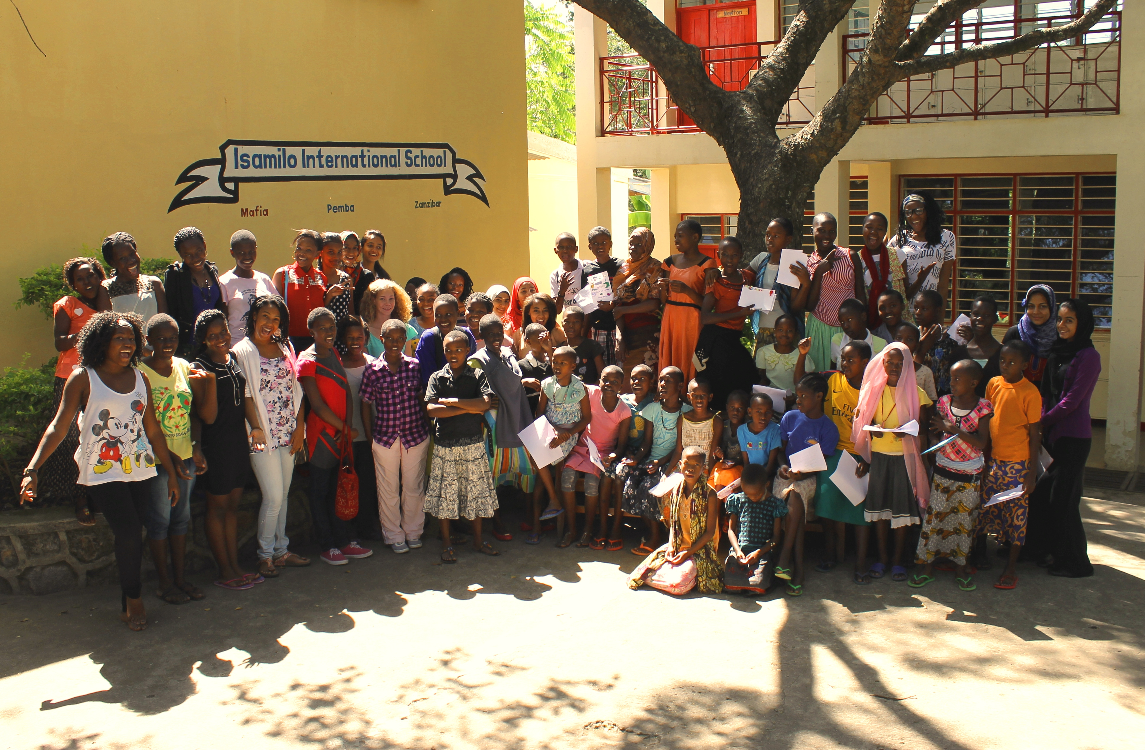 Today's Saturday School - exclusively for girls, to mark International Day of the Girl Child, at Isamilo International School, Mwanza, Tanzania.
