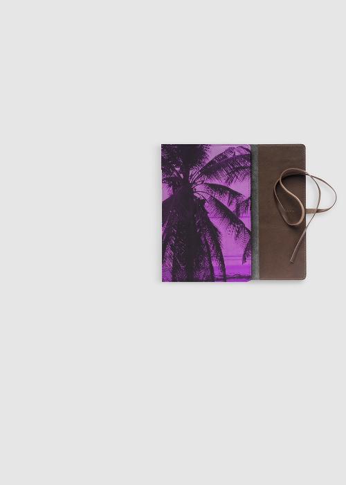 Leather Accent Tag - Purple Rain Tag by VIDA VIDA TheBn6K