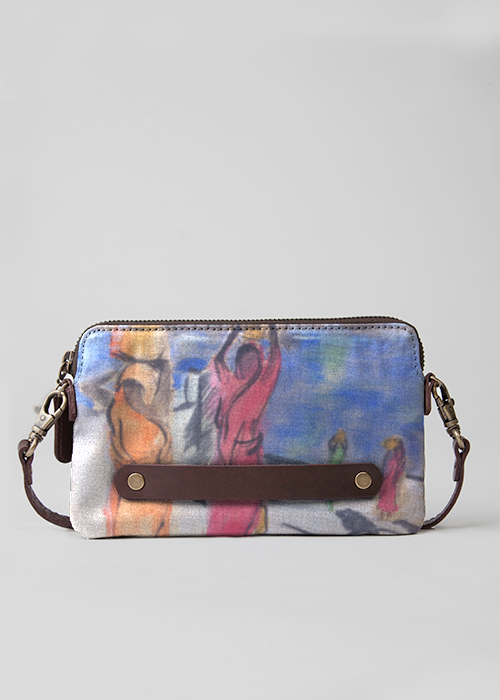 Statement Clutch - Hibiscus Clutch Bag by VIDA VIDA zMEZ0cGQ